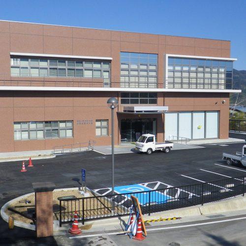平成25年度合併特例事業有田川町防災施設整備屋外付帯(第一工区)工事