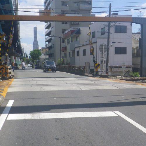 天保軌道工事(桜島線春日出踏切連接軌道全交換)(甲)