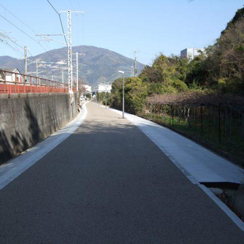 まちづくり交付金事業 鉄道プロムナード自歩道設置(第3工区)工事