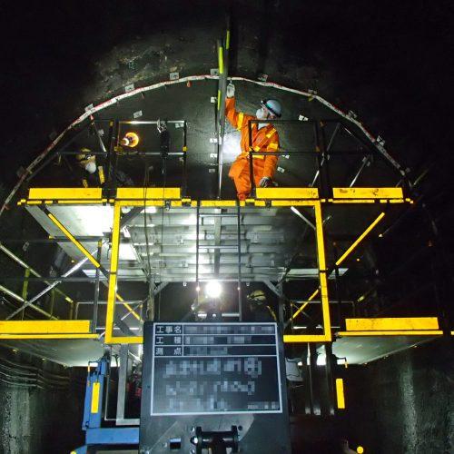 和歌山支社管内土木修繕他 和歌山支社管内トンネル覆工修繕