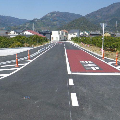 平成27年度繰越防災・安全交付金事業 町道西丹生図出線 道路改良工事